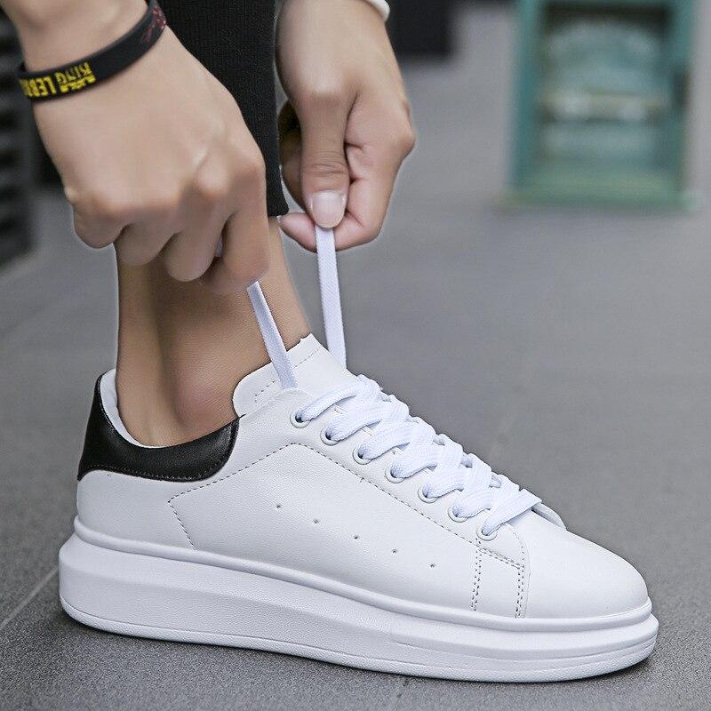 Designer Sneakers Men Casual Shoes Split Leather Men Zapatillas Fashion Chaussure Homme Plus Size Comfortable Footwear C1-10A