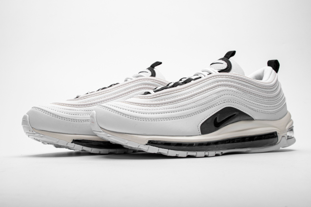 "oben Nike Air Max 97 QS ""Liquid Silver"" Mens Running Shoes"