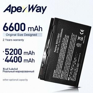 Аккумулятор ApexWay для Acer Travelmate BATCL50L, BATCL50L6, 2450, 2490, 4200, 4230, 4260, 4280, 5210, 5510, BATBL50L4, BATBL50L6, BATBL50L8H