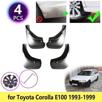 for Toyota Corolla AE100 E100 1993~1999 Mudguards Mudflap Fender Mud Flaps Splash Flap Guards Accessories 1994 1995 1996 1997 image
