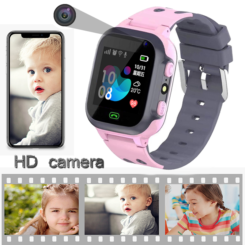 New Kids Smart watch LBS Smartwatches Baby Watch Children SOS Call Location Finder Locator Tracker Anti Lost Monitor Kids Gift in Smart Watches from Consumer Electronics