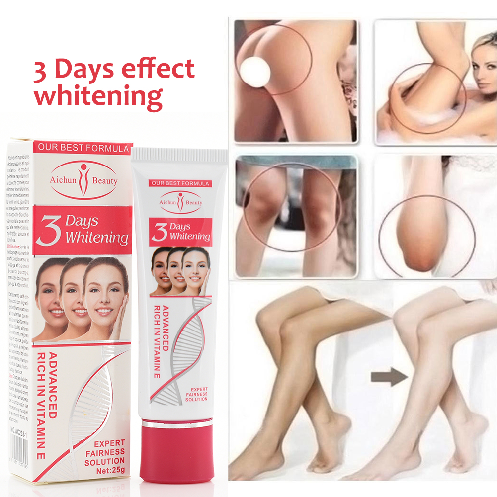 3 Days Effect Armpit Whitening Body Creams Between Legs Knees Private Parts Whitening Formula Armpit Whitener Intimate Body Care
