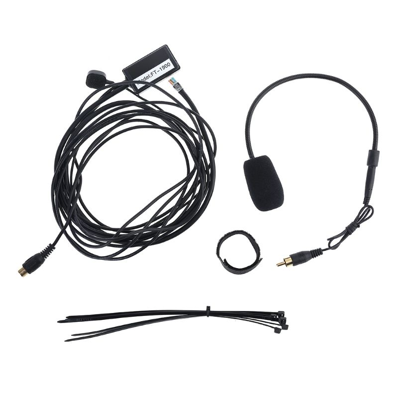 Hands-free Mic Microphone For Car Radio Yaesu FT-7800 FT-2800 FT-8800 FT-8900 Size: 300cm