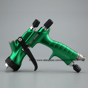 Image 1 - Hohe Qualität Spray Gun Gravity Spritzpistole 1,3mm Düse 600cc Kunststoff Topf Ideal Auto Malerei Werkzeug