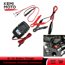 6v 12v Battery Charger Automatic Smart Maintainer for Motorcycle Scooter Battery Charger with LCD Display For  Tmax 500 Tmax 530 12v 5a automatic smart battery charger maintainer