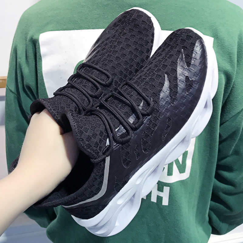 Hot Spring Men's Casual Shoes Fashion Brand Male Sneakers Breathable Mesh Krasovki Footwears Chaussure Homme Adult Shoe 39-44