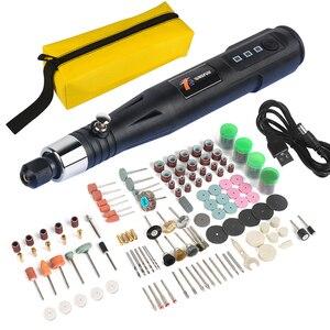 Image 1 - Mini Elektrische Roterende Boor Graveren Pen 30W Professionele Slijpen Frezen Polijsten Gereedschap Elektrische Slijpen Pen Boor Tool
