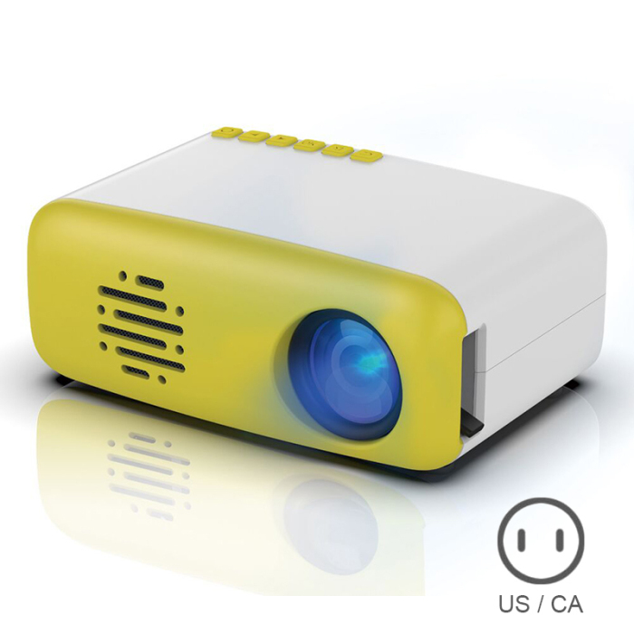 Mini lcd projetor hdmi alta definição casa
