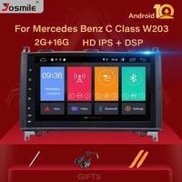 DSP IPS Android 10 Car Radio Multimedia GPS for Mercedes Benz B200 Sprinter W906 A B Class W169 W245 Viano Vit W639 SWC Camera