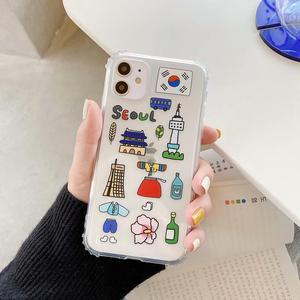 Силиконовый прозрачный противоударный чехол для iPhone 11 Pro Max, XS MAX, X, XR, 7, 8 Plus