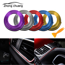 5M car interior decoration line decorative strip molding door instrument panel for decorati