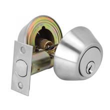 Stainless Steel Door Double Cylinder Deadbolt Lock Keyed on Both Sides for Wood Door Cerradura цена 2017