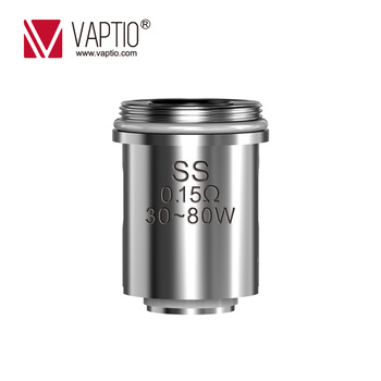 10pcs Original Vaptio P3 Core For P3 Kit Atomizer Coils Head 10-80W 0.15ohm/0.25ohm/0.8ohm Evaporator Vaporizer E Cigarette Vape