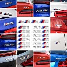 Suitable for BMW M car logo modification M1M2M3M4M5M6 three-color logo X1X2X3X4X5X6 Modified sport tail sticker