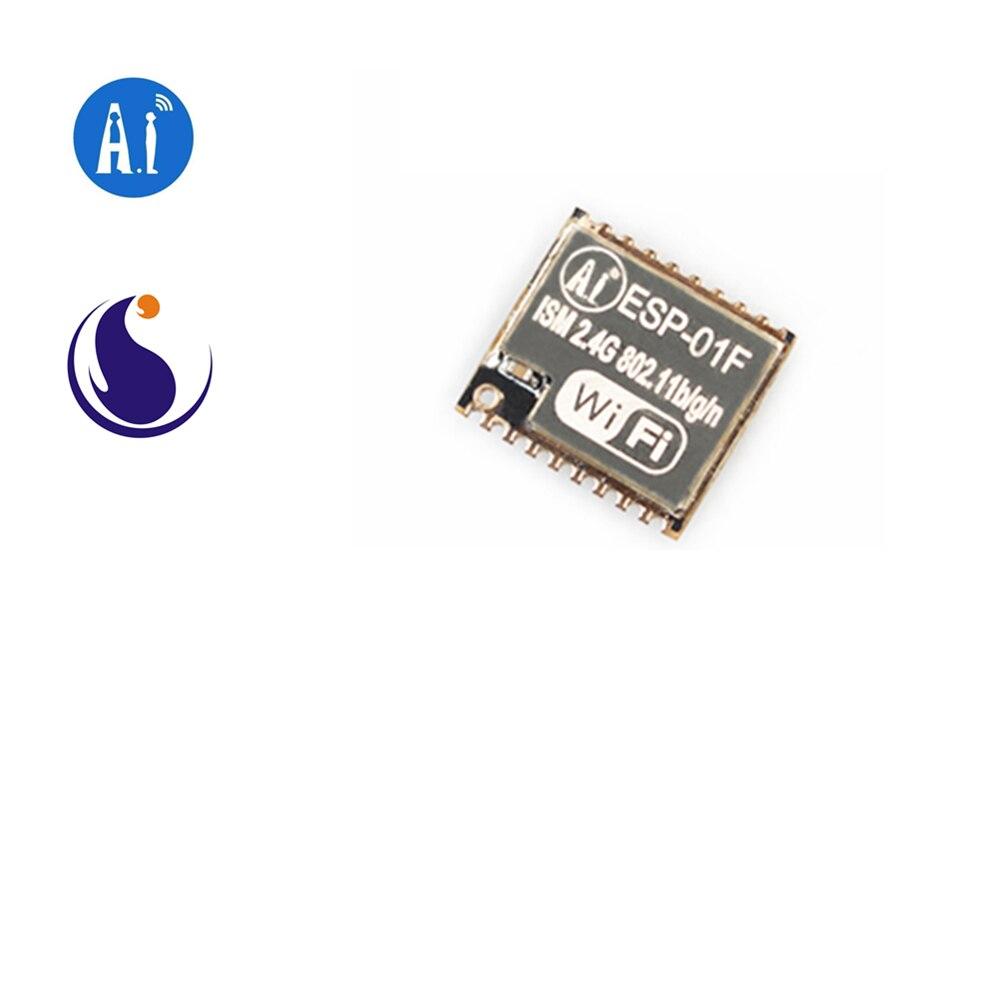 ESP-01F Ai-Thinker 2.4 GHz Wi-Fi Module ESP8285 Chip / Serial To WiFi / Wireless Pass-through / AIoT Internet Of Things