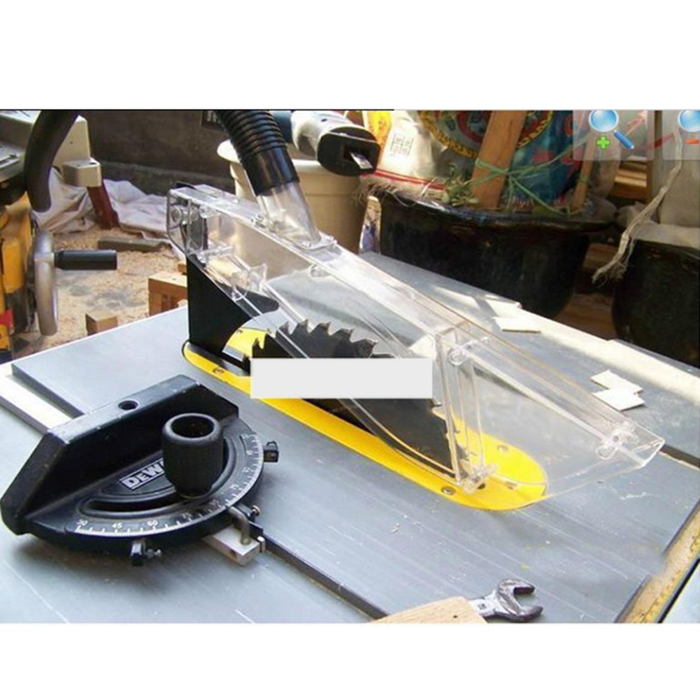 Universal Woodworking Table Saw With Dispensing Tool Anti Dust Protective Cover Shell Plastic Transparent Durable Accessories
