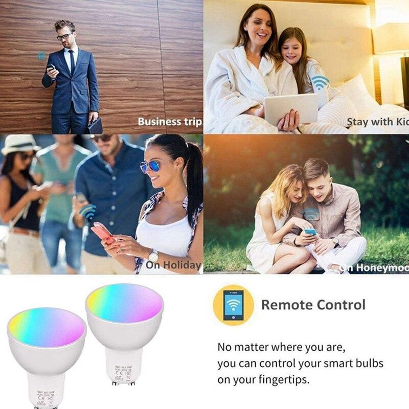 Rgbw Regulável Luz Copo, compatível Com Alexa