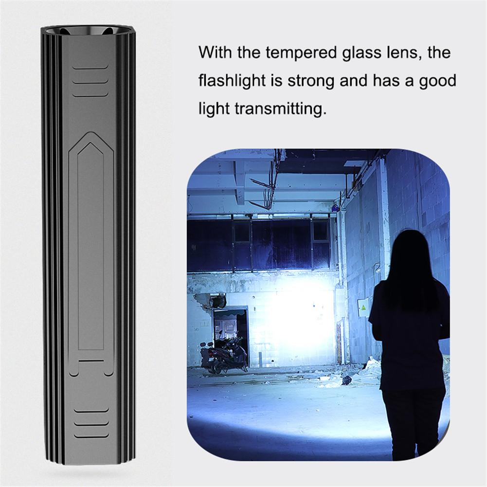 T6 светодиодный фонарик usb мини портативный алюминиевый сплав