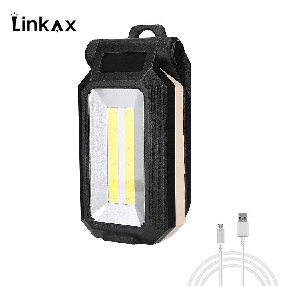 Led Work Light Rechargeable Usb Built