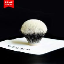 OUMO BRUSH-  SHD chubby bulb Manchuria finest two band badger hair knots shaving brush