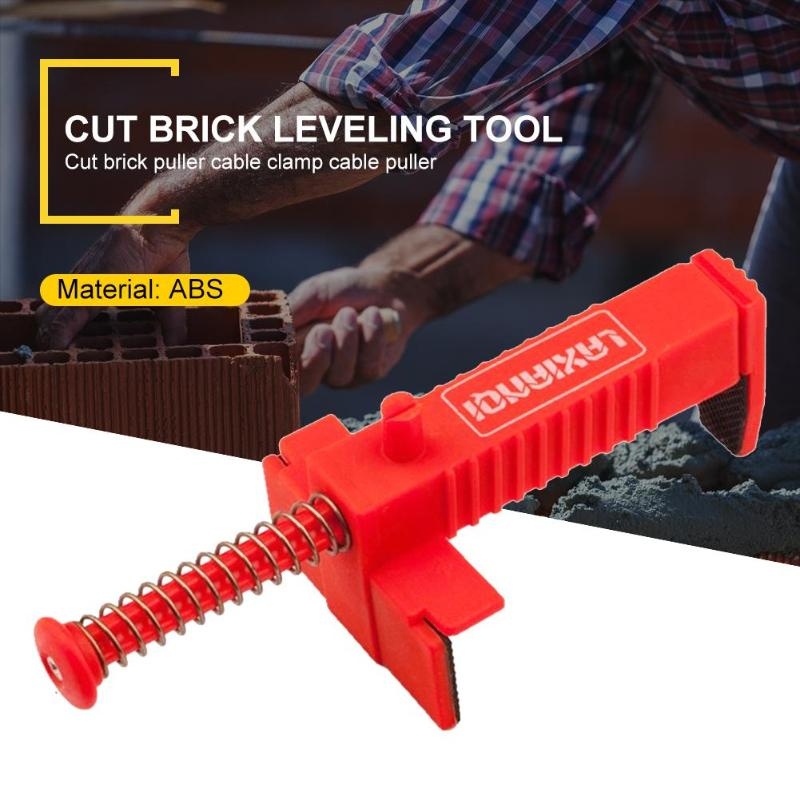1Pair Construction Tools For Masons Engineering Plastic Bricklaying Line Drawing Tool Brick Leveling Measuring Tool Bricklayer