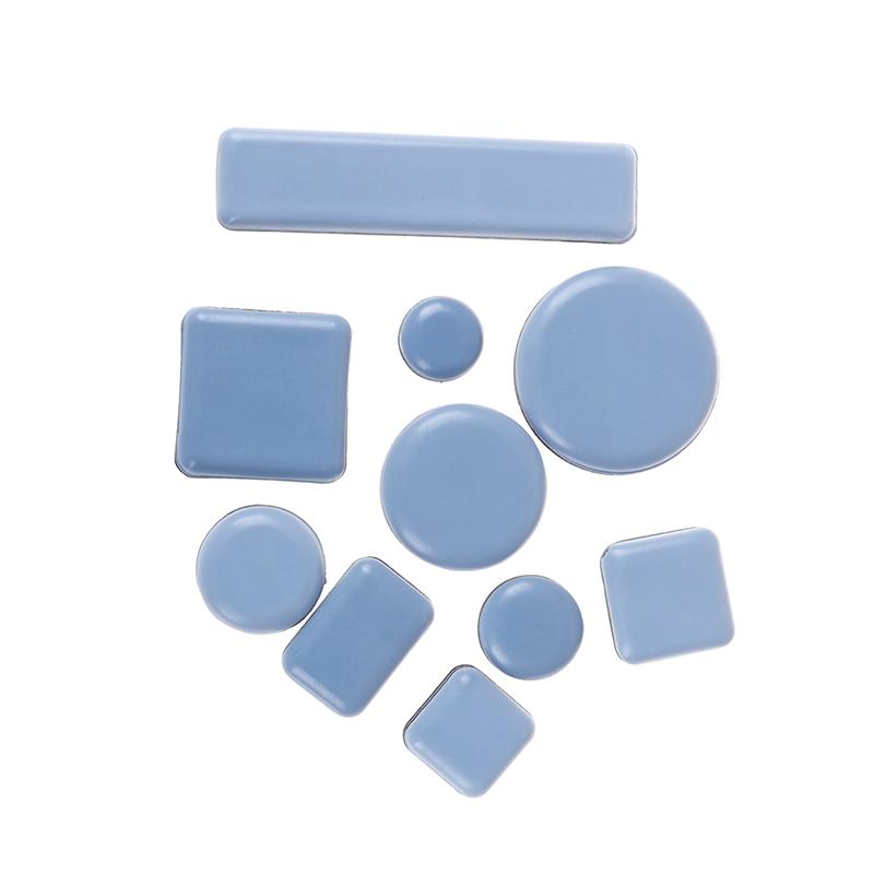4/6/8pcs Slider Pads Furniture Table Bases Protectors Coaster Carpet Ground Magic Moving Anti-abrasion Floor Mats Wholesale