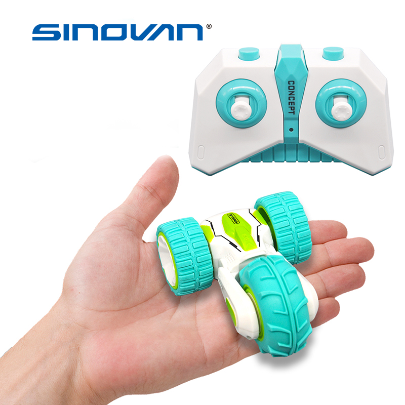 Sinovan Mini RC Car 2.4G 4CH Stunt Drift Deformation Buggy Rock Crawler Roll Car 360 Degree Flip Car Remote Control Car