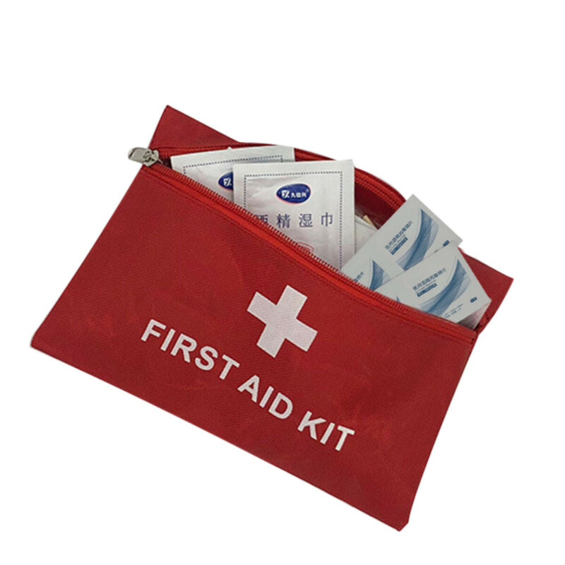 Anti Virus First Aid Kits Emergency Kit  9Pcs/bag  Mask Alcohol Wet Wipes Band-aid Gloves Sets For Household Outdoor Travel