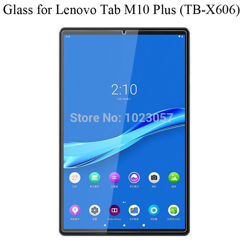 "Tempered Glass membrane For Lenovo Tab M10 Plus 10.3 Steel film Tablet Screen Protection Toughened TB-X606F TB-X606X 10.3"" Case"