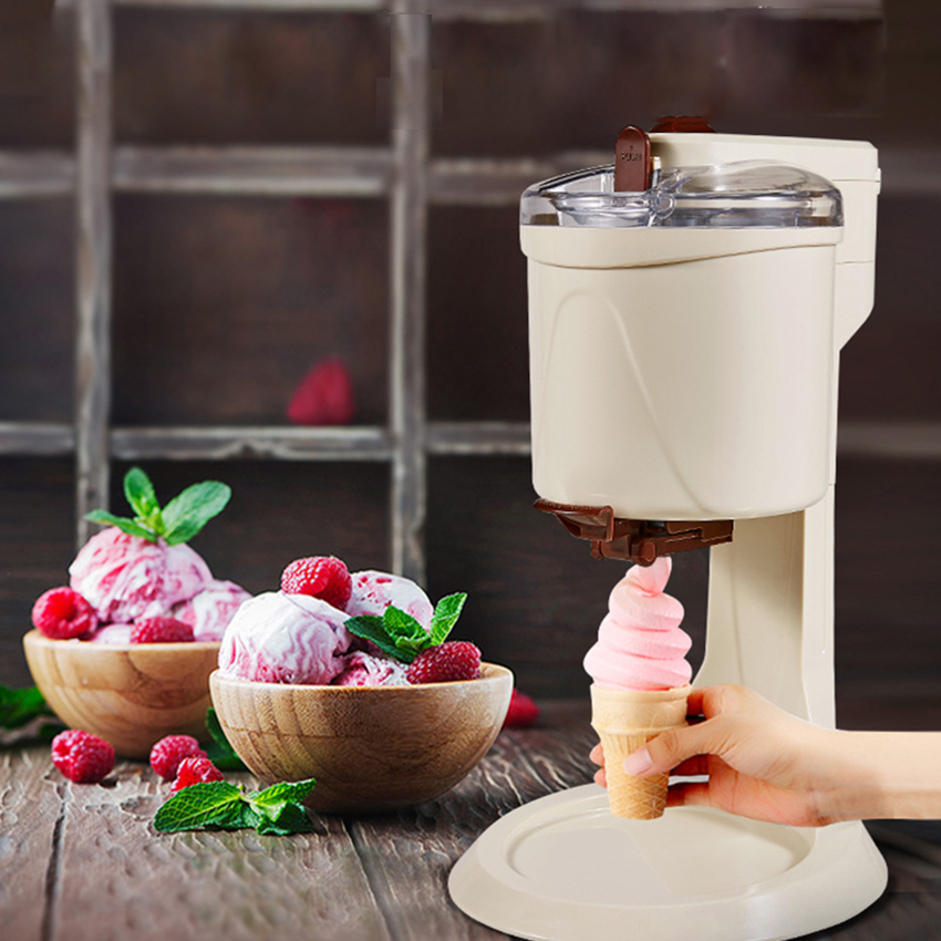 BL-1000 Ice Cream Machine Fully Automatic Fruit Ice-cream Maker Mini Household Electric Homemade Smoothie Child Favorite 220V