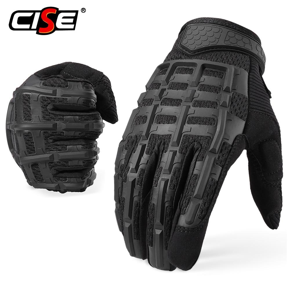 Gants de Moto pleins de doigts doux   De motard, de Motocross, équipement de protection pour Moto, gants demi-doigt pour hommes, vtt pour hommes et hommes