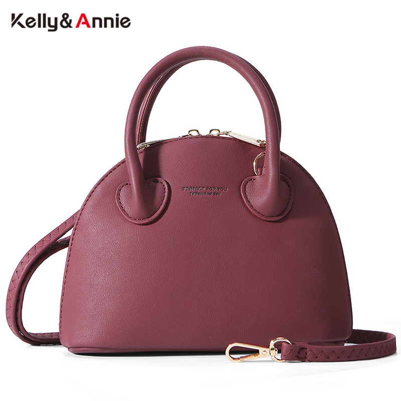 2020 NEW Shell Handbag Women Soft Leather Messenger Crossbody Shoulder Bag Ladies Tote Sac Bolsa Female Hand Bag Brand Designer