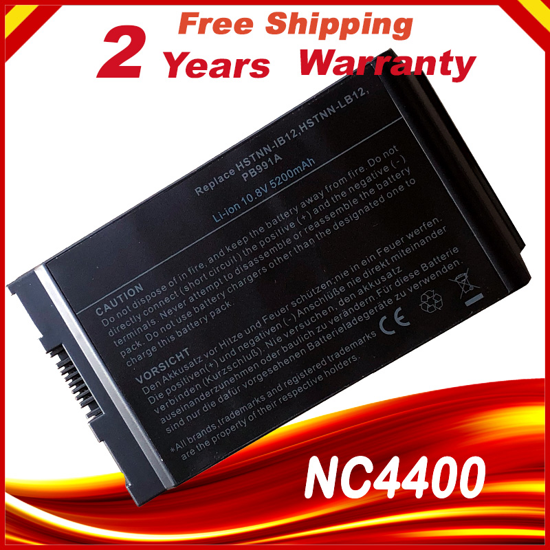HSW Laptop Battery For HP Compaq Notebook 4200 NC4200 NC4400 TC4200 TC4400 HSTNN-IB12 Battery For Laptop HSTNN-UB12 PB991A