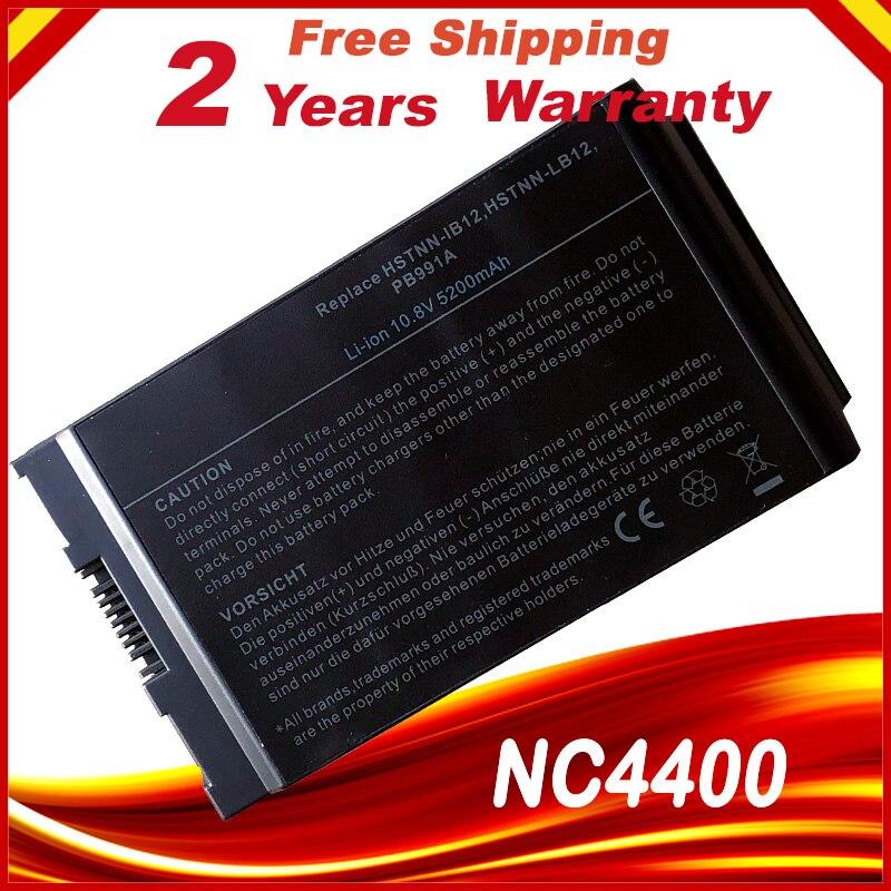 HP 컴팩 노트북 용 HSW 노트북 배터리 4200 NC4200 NC4400 TC4200 TC4400 HSTNN-IB12 노트북 용 배터리 HSTNN-UB12 PB991A