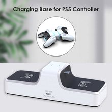 Dock-Station-Stand Charger Playstation Ps5-Controller 5-Dualsense-Accessories Dual-Usb