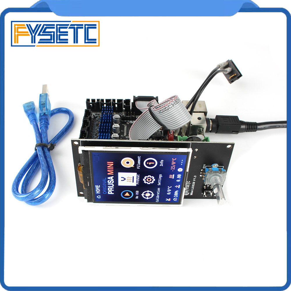 Clone Prusa Mini Buddy Board TMC2209 Driver With Lcd Compatiable With Prusa Firmware