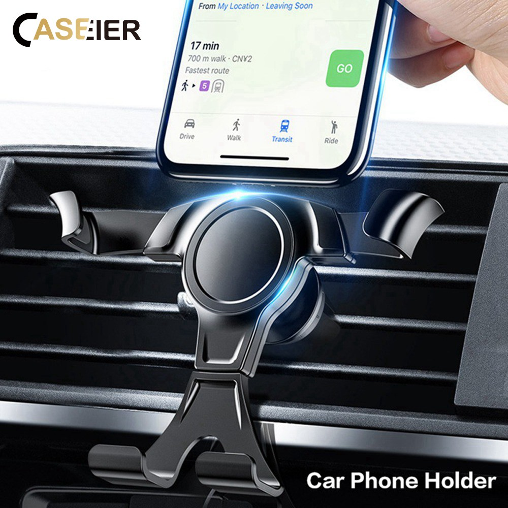 CASEIER Universal Gravity Car Phone Holder For Phone In Car Air Vent Mount Stand For IPhone Samsung Xiaomi Support Car Holder