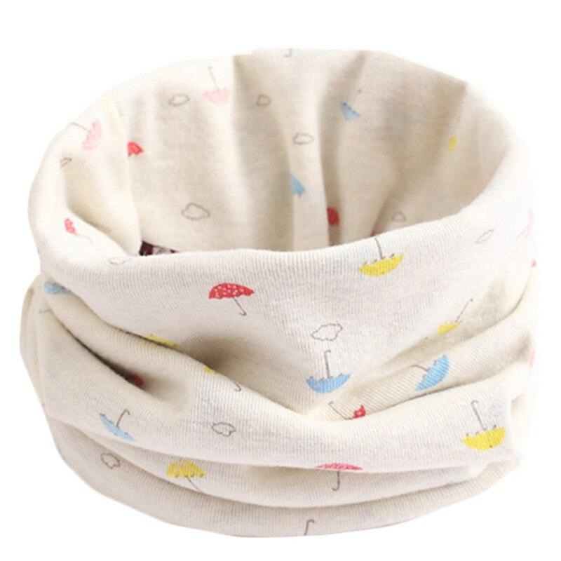 Весенний детский хлопковый шарф, теплый шарф для маленьких детей, осенне-зимние шарфы с героями мультфильмов для мальчиков и девочек, детский воротник с круглым вырезом, волшебный шейный платок - Цвет: 24
