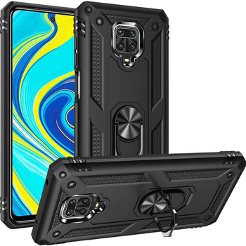 for XiaoMi RedMi Note 9s Pro Note 8 Pro Case,WEFOR Military Grade 15ft. Drop Tested Protective Kickstand Magnetic Car Mount Case