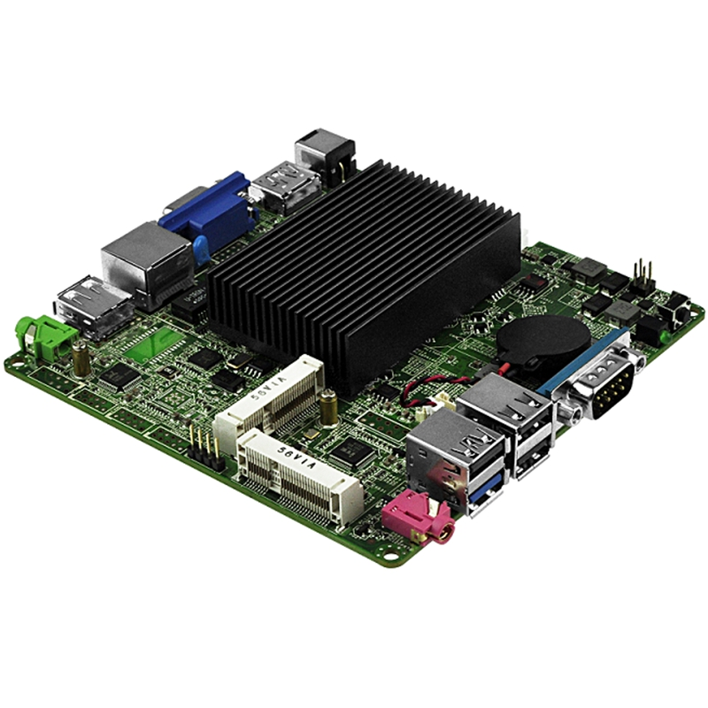 Carte mère PPYY new-bay Trail J1900 Mini Itx Q1900G-P, Quad Core 2.42 Ghz, carte mère Dc 12V Nano Itx
