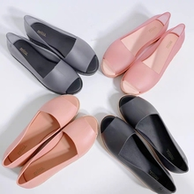2020 New Melissa Puzzle Fish Mouth Women Jelly Shoes Sandals