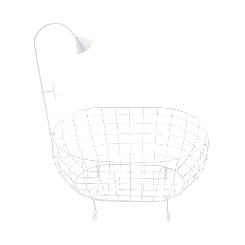 Sofa Hollowed Out Bathtub Newborn Baby Posing Iron Basket Durable Accessories Decoration Stable Studio Photography Props Photo