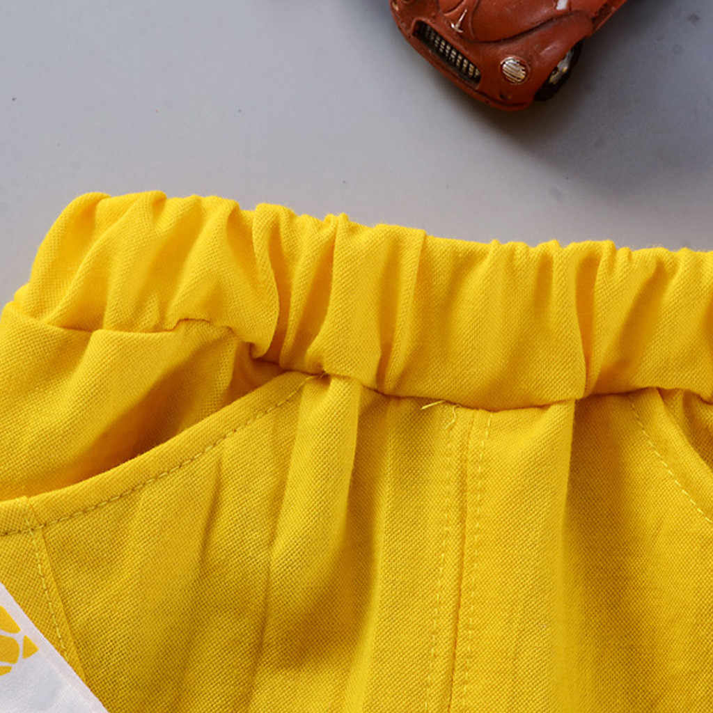 Sagace Anak Perempuan Atasan Padat Celana Pendek Kasual Balita Bayi Anak-anak Anak-anak Nanas Atasan Pakaian Set Anak Anak Pakaian Katun