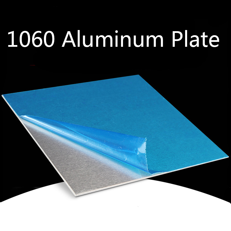 1060 Aluminum Flat Plate Board Machinery Parts Laser Processing Cutting Pure Aluminum Sheet Electrical Application DIY Material