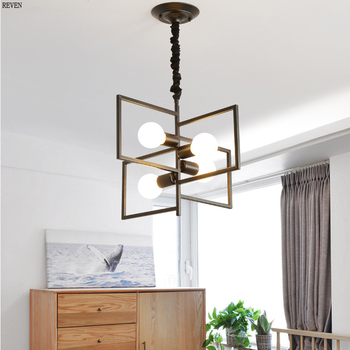 Modern Black and white color LED Ceiling Chandelier Lighting Living Room Bedroom Chandeliers Creative Home Lighting Fixtures
