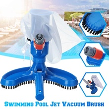 5 Types Pool Cleaner Portable Swimming Pool Pond Fountain Vacuum Brush Cleaner Cleaning for Fishing pond, Aquarium Swimming Pool