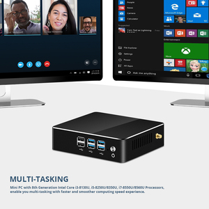 Image 5 - YCSD Mini PC Intel Core i7 8550U i5 8250U i3 4K UHD DDR4 RAM Windows 10 WIFI HDMI 8*usb Quad Core Gaming Pc Computer Nuc HTPC