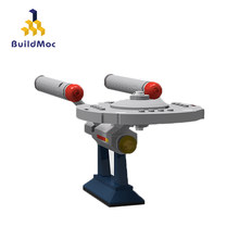 Buildmoc Mini 6021 Star Trek-Serie Speelgoed NCC-1701 Blokkade Runner Set Educatief Bouwstenen Bakstenen Kid(China)