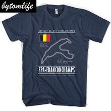 Spa Francorchamps Tee, Race,Racecar, Track, Turbo, Belgium Grand Prix, V62018 Brand New Clothing Mens Fashion T Shirt T-Shirts