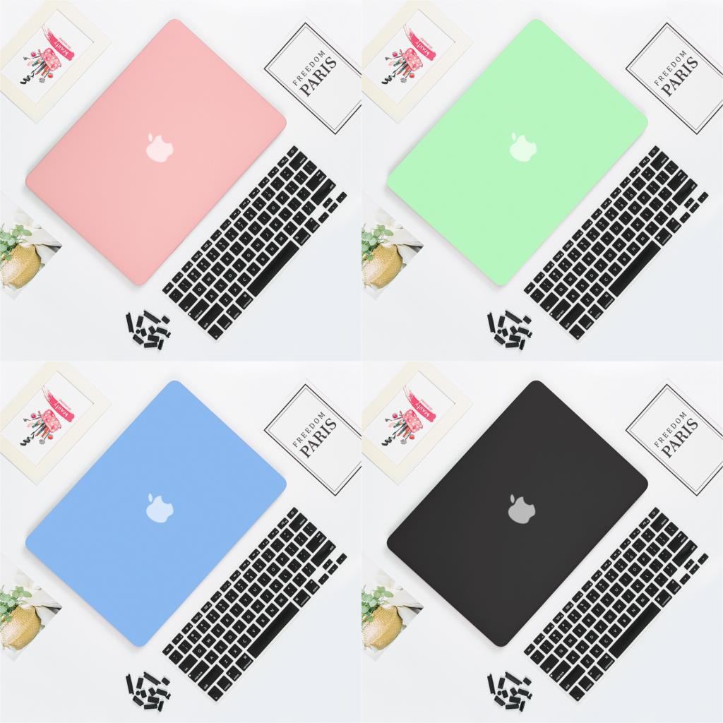 Ultra fino cristal/fosco caso para apple macbook air 13 13.3 a1932 11 12 novo pro 13 15 retina 15.4 capa a2159 portátil caso duro